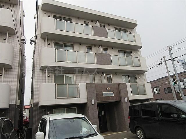 北海道札幌市白石区、白石駅徒歩25分の築5年 4階建の賃貸マンション