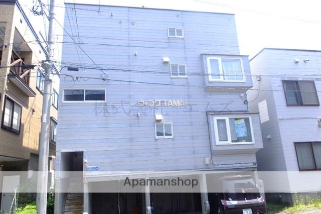 北海道札幌市白石区、東札幌駅徒歩7分の築23年 3階建の賃貸アパート