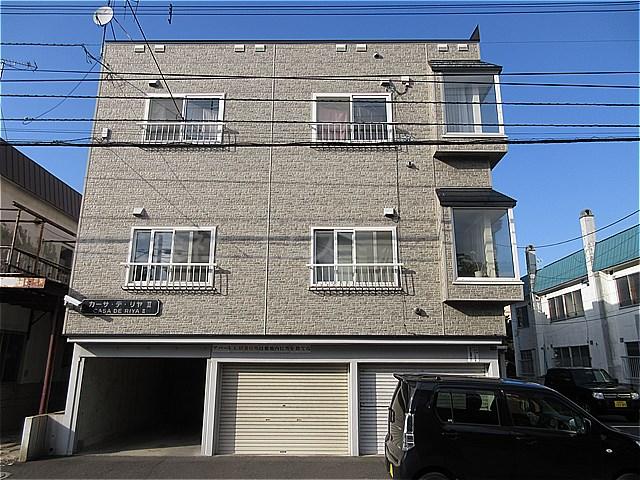 北海道札幌市豊平区、学園前駅徒歩18分の築22年 3階建の賃貸アパート