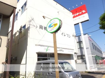 北海道札幌市白石区、南郷7丁目駅徒歩8分の築34年 3階建の賃貸マンション
