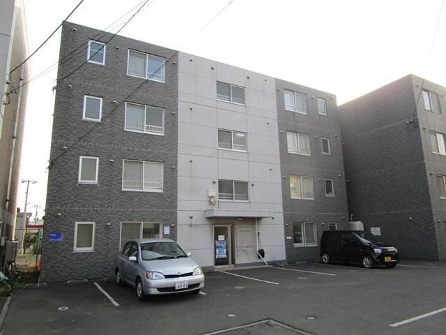 北海道札幌市白石区、苗穂駅徒歩14分の築13年 4階建の賃貸マンション