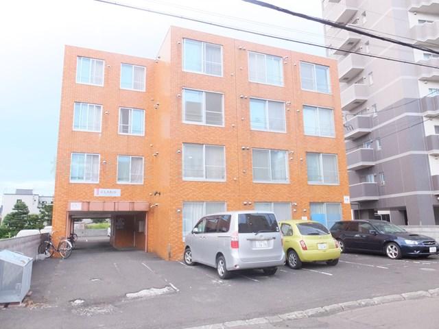 北海道札幌市白石区、菊水駅徒歩4分の築22年 4階建の賃貸マンション