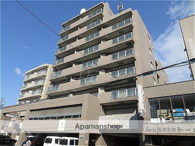 北海道札幌市豊平区、白石駅徒歩14分の築17年 9階建の賃貸マンション