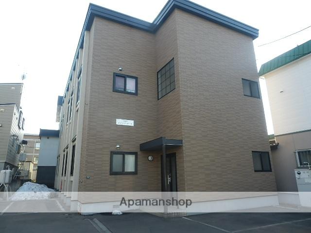 北海道札幌市白石区、平和駅徒歩16分の築10年 2階建の賃貸アパート