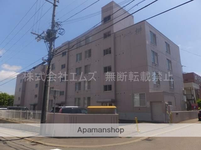 北海道札幌市白石区、南郷13丁目駅徒歩15分の築30年 5階建の賃貸マンション