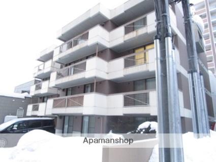 北海道札幌市白石区、菊水駅徒歩7分の築27年 4階建の賃貸マンション