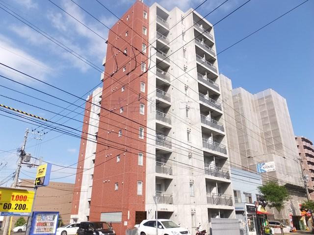 北海道札幌市白石区、東札幌駅徒歩7分の築11年 10階建の賃貸マンション