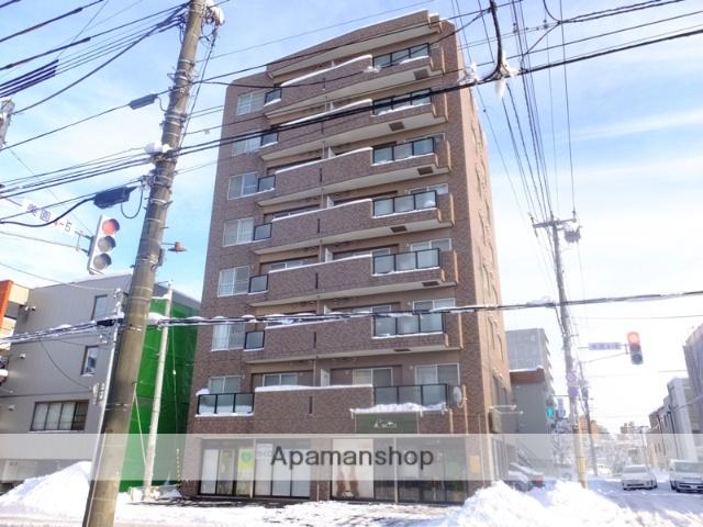 北海道札幌市豊平区、白石駅徒歩15分の築14年 8階建の賃貸マンション