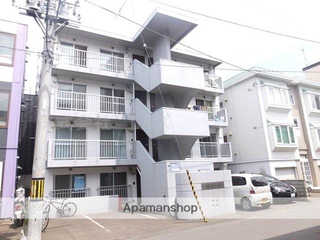 北海道札幌市白石区、菊水駅徒歩15分の築27年 4階建の賃貸マンション