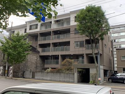北海道札幌市中央区、札幌駅徒歩8分の築3年 5階建の賃貸マンション