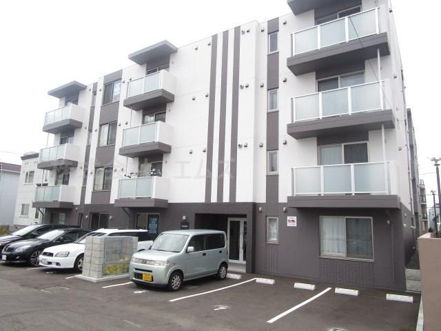 北海道札幌市白石区、白石駅徒歩25分の築1年 4階建の賃貸マンション