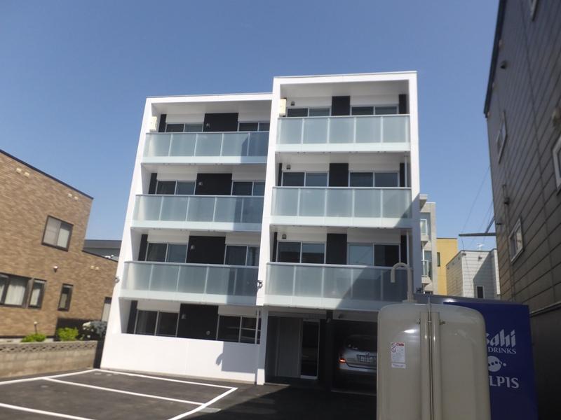 北海道札幌市豊平区、白石駅徒歩20分の新築 4階建の賃貸マンション