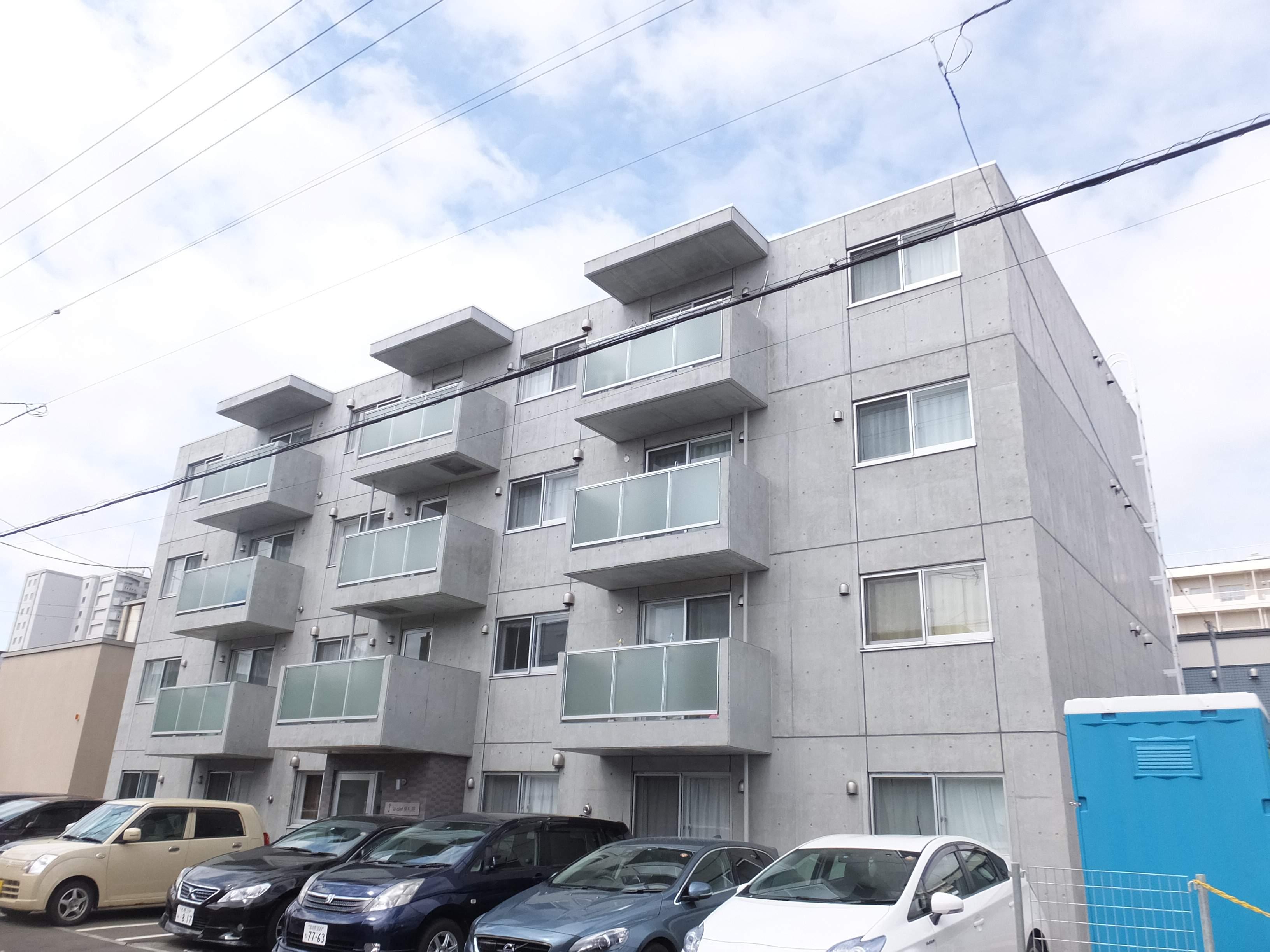 北海道札幌市白石区、菊水駅徒歩26分の新築 4階建の賃貸マンション
