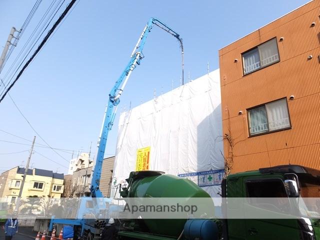 北海道札幌市豊平区、学園前駅徒歩16分の新築 4階建の賃貸マンション