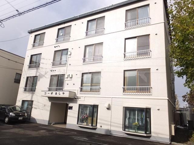 北海道札幌市豊平区、平岸駅徒歩19分の築34年 4階建の賃貸マンション