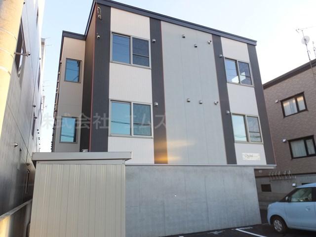 北海道札幌市白石区、菊水駅JRバスバス20分菊水元町7条下車後徒歩7分の新築 3階建の賃貸アパート