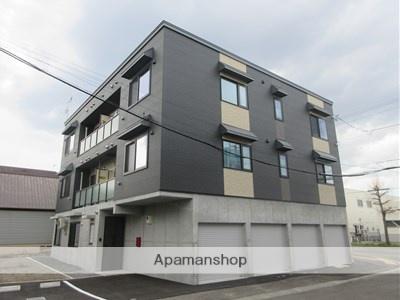 北海道札幌市白石区の新築 3階建の賃貸アパート