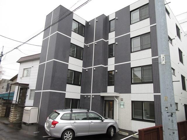 北海道札幌市白石区、苗穂駅徒歩14分の新築 4階建の賃貸マンション