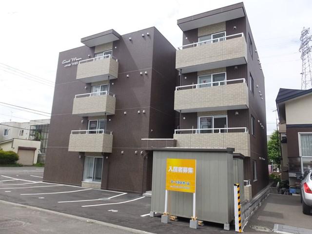 北海道札幌市豊平区、南郷18丁目駅徒歩19分の新築 4階建の賃貸マンション