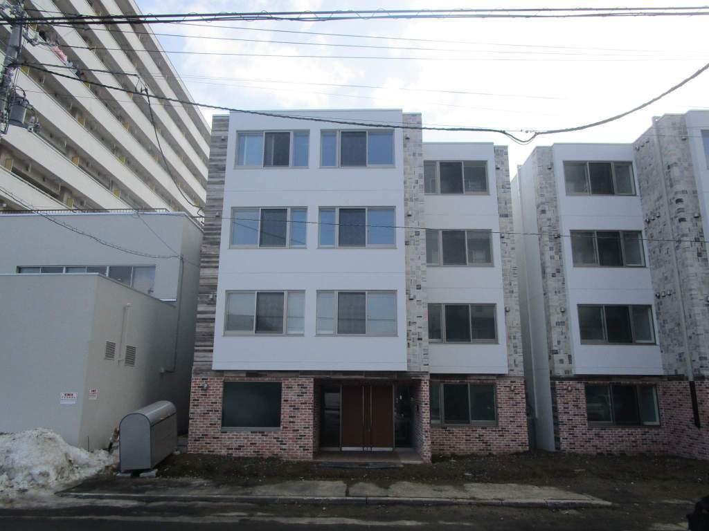北海道札幌市白石区、苗穂駅徒歩18分の新築 4階建の賃貸マンション