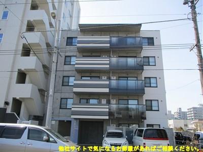 北海道札幌市中央区、幌平橋駅徒歩7分の新築 5階建の賃貸マンション