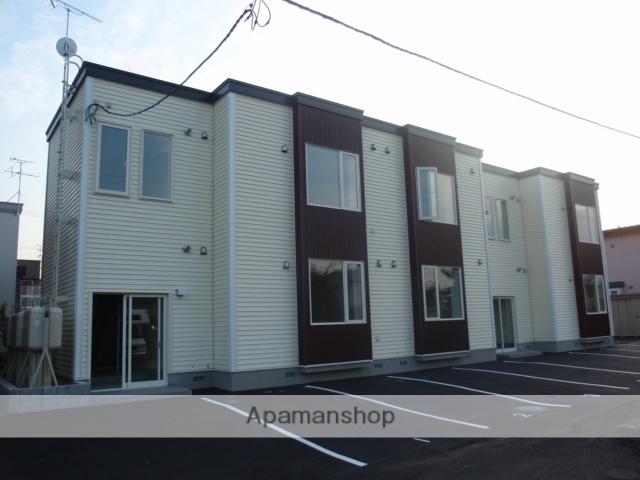北海道札幌市白石区、白石駅徒歩16分の築3年 2階建の賃貸アパート