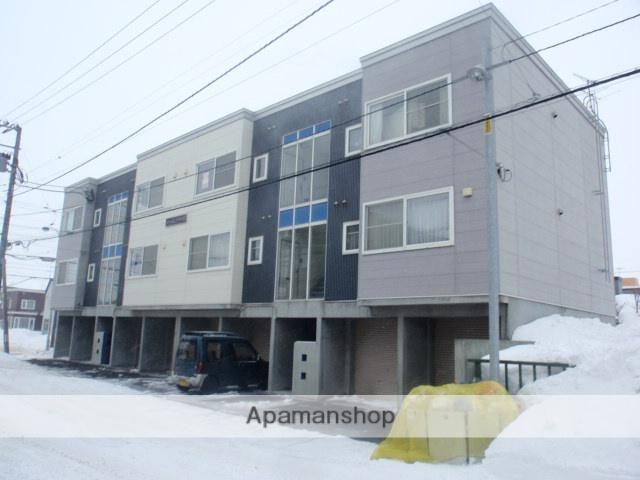 北海道札幌市白石区、平和駅徒歩17分の築13年 2階建の賃貸アパート