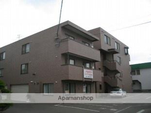 北海道札幌市白石区、厚別駅徒歩17分の築13年 4階建の賃貸マンション