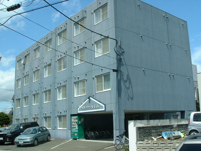 北海道札幌市白石区、白石駅徒歩7分の築19年 4階建の賃貸マンション