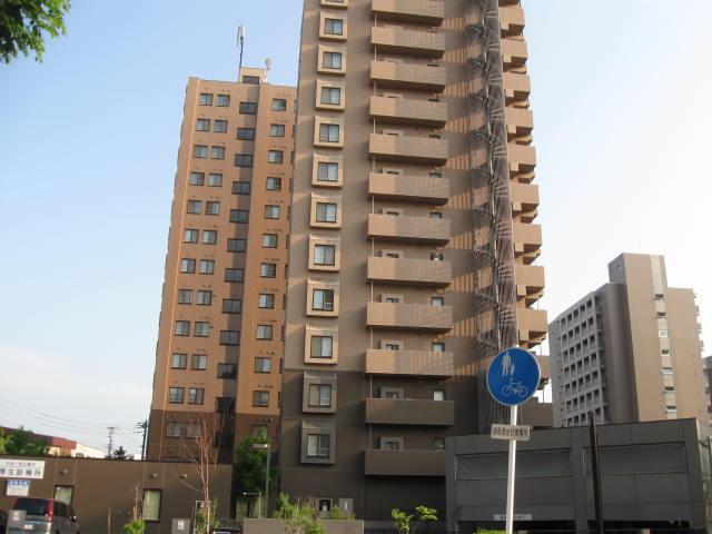 北海道札幌市豊平区、菊水駅徒歩13分の築13年 14階建の賃貸マンション