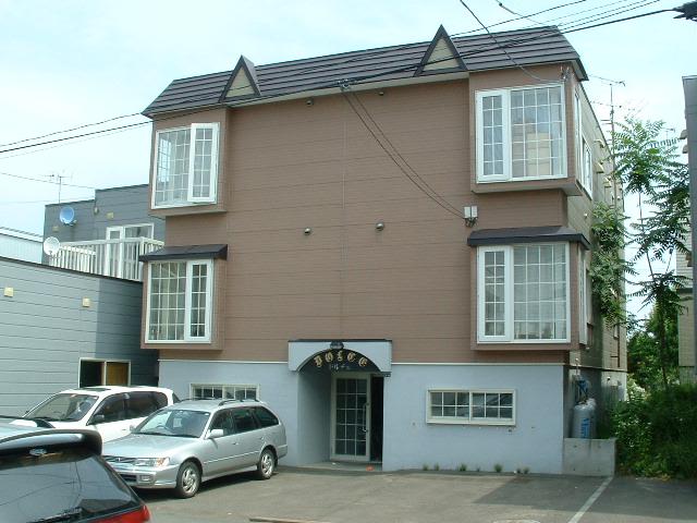北海道札幌市豊平区、南郷7丁目駅徒歩12分の築21年 2階建の賃貸アパート