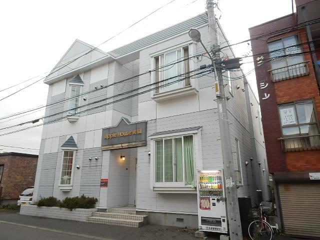 北海道札幌市豊平区、白石駅徒歩9分の築27年 2階建の賃貸アパート