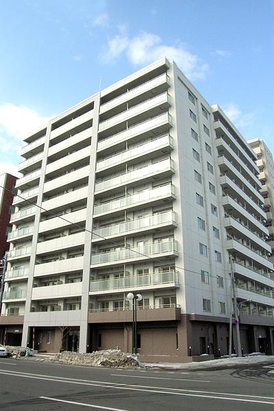 北海道札幌市中央区、札幌駅徒歩7分の築11年 11階建の賃貸マンション