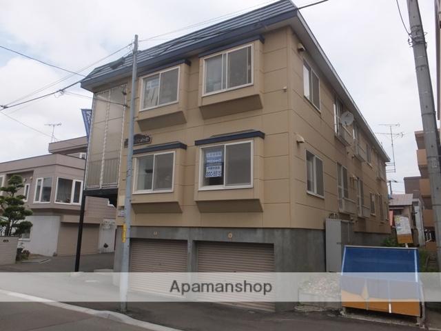 北海道札幌市豊平区、白石駅徒歩13分の築28年 2階建の賃貸アパート