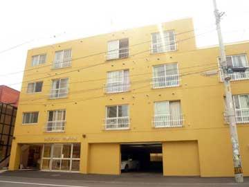 北海道札幌市豊平区、菊水駅徒歩15分の築33年 4階建の賃貸マンション