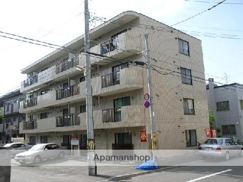 北海道札幌市中央区、西線14条駅徒歩5分の築27年 4階建の賃貸マンション
