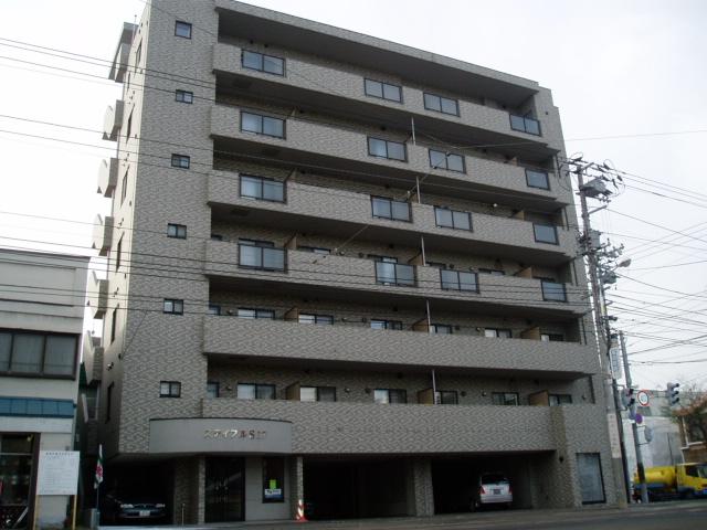 北海道札幌市中央区、中島公園駅徒歩19分の築16年 7階建の賃貸マンション