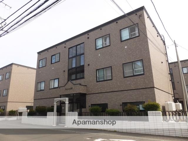 北海道札幌市南区、南平岸駅徒歩20分の築19年 3階建の賃貸アパート