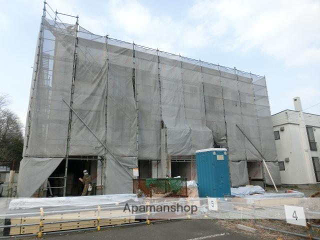 北海道札幌市南区、南平岸駅徒歩14分の築1年 3階建の賃貸アパート
