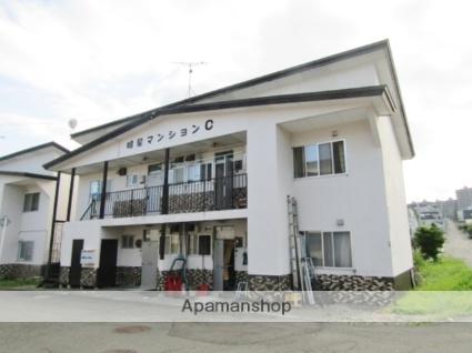 北海道札幌市南区、真駒内駅じょうてつバスバス15分川沿4−2下車後徒歩3分の築43年 2階建の賃貸アパート