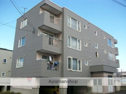 北海道札幌市南区、澄川駅徒歩14分の築25年 4階建の賃貸マンション