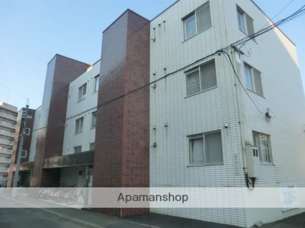 北海道札幌市南区、南平岸駅徒歩20分の築34年 3階建の賃貸マンション