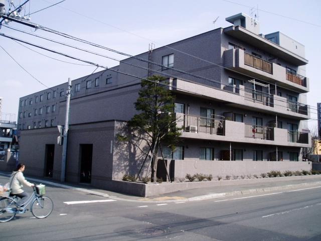 北海道札幌市中央区、東屯田通駅徒歩5分の築23年 5階建の賃貸マンション