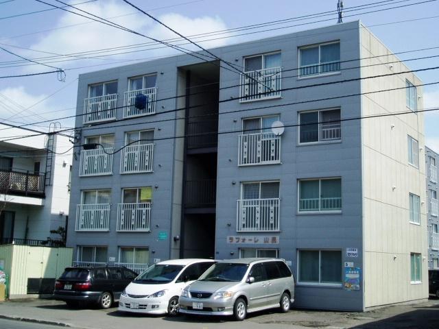 北海道札幌市中央区、東屯田通駅徒歩6分の築29年 4階建の賃貸マンション