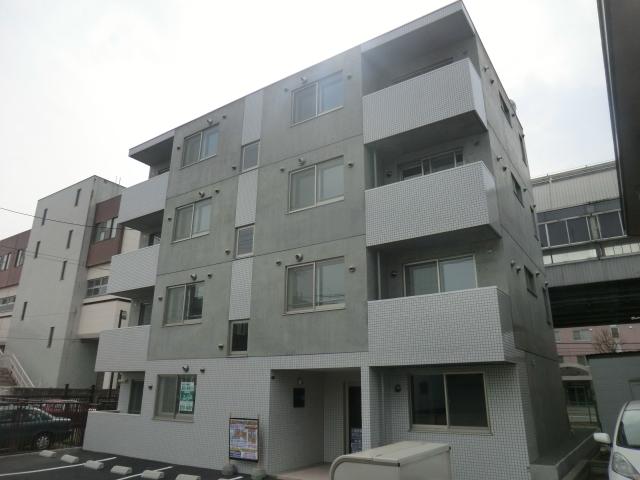 北海道札幌市南区、澄川駅徒歩15分の築2年 4階建の賃貸マンション