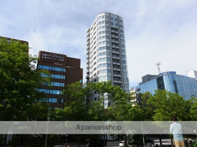北海道札幌市中央区、西11丁目駅徒歩5分の築12年 20階建の賃貸マンション