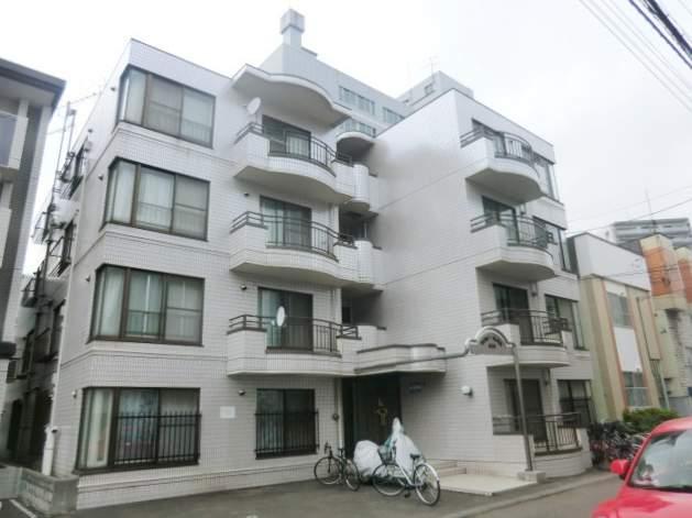 北海道札幌市中央区、二十四軒駅徒歩12分の築28年 4階建の賃貸マンション
