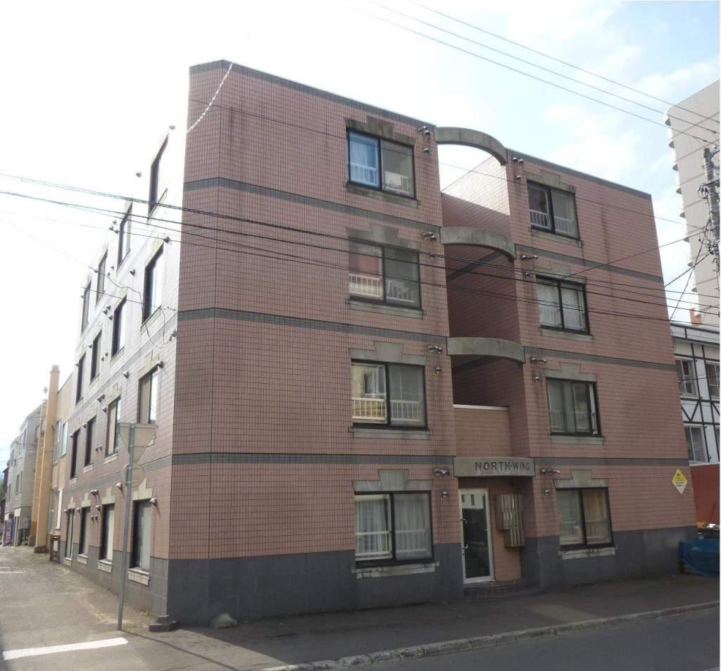 北海道札幌市中央区、西15丁目駅徒歩9分の築25年 4階建の賃貸マンション