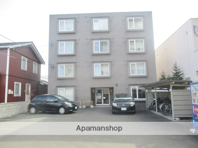 北海道札幌市中央区、西線14条駅徒歩3分の築13年 4階建の賃貸マンション