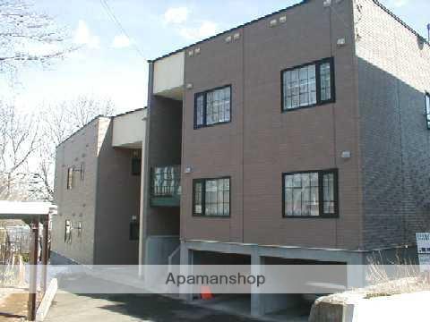 北海道札幌市中央区の築23年 2階建の賃貸アパート